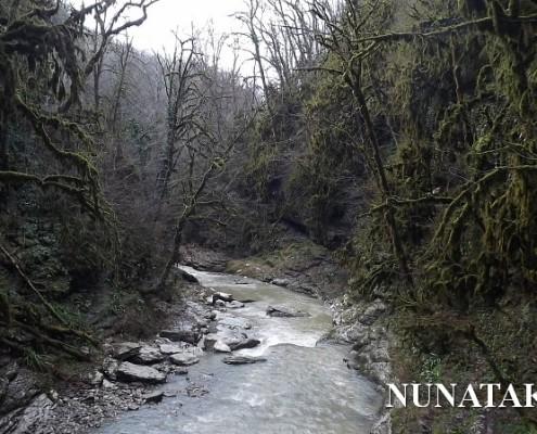 Сухой и Мокрый каньон Псахо