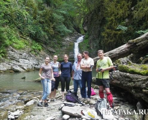 Ущелье реки Восточный Дагомыс