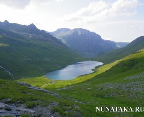 Архыз. Озеро Кяфар
