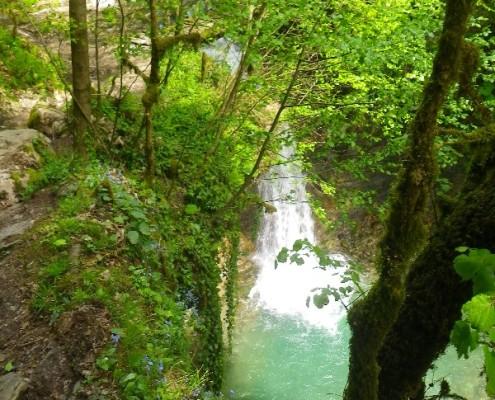 Средний Ажекский водопад