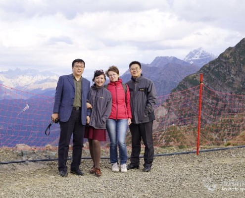 Вершина горы Аибга. Курорт Роза Хутор