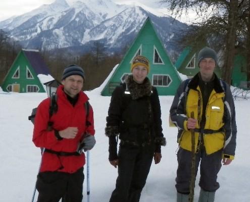 Отдых в горах зимой