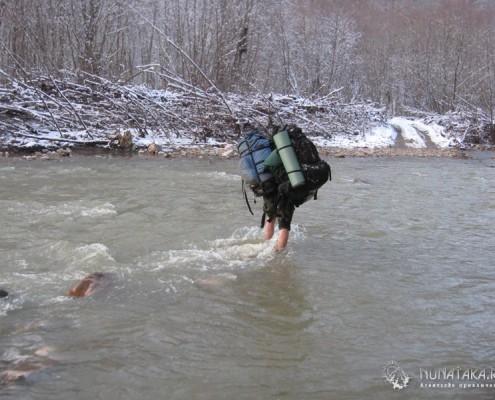 Работа инструктора в походе
