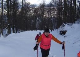 Снег в горах Красной Поляны