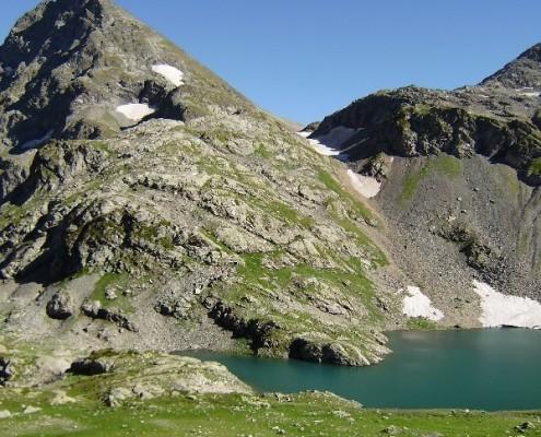 Озеро Верхний Кардывач
