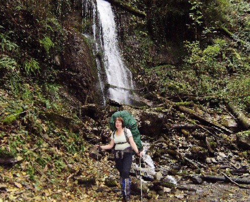 Водопад под Фиштом