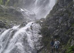 Около водопада Поликаря