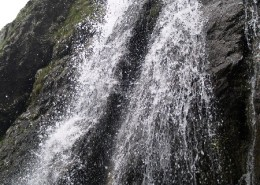 Струи водопада