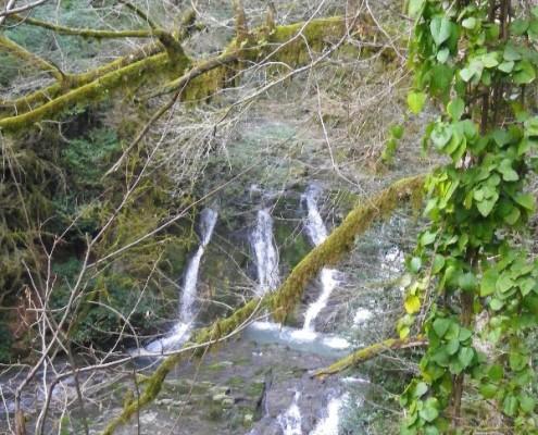 Водопады на Безуменке
