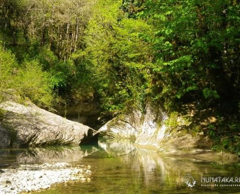 Устье каньона Кудепсты