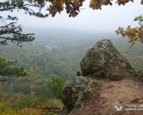 Панорама с Планческих скал