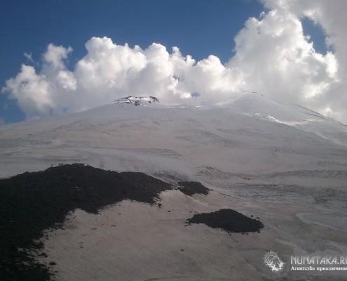 Ледовые поля Эльбруса