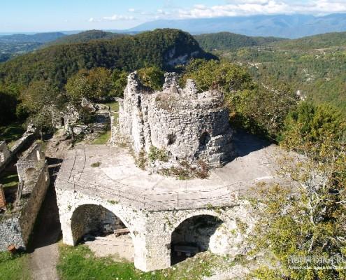 Крепость Анакопия в Афоне