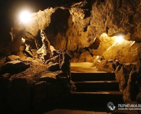 Описание Воронцовских пещер