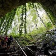 Вход в Воронцовские пещеры