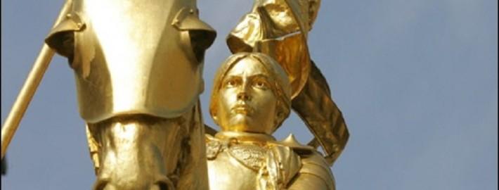 Статуя Жанны Д'Арк