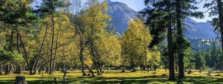 Осень в Архызе