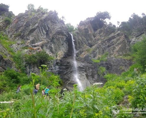 Водопад Баритовый