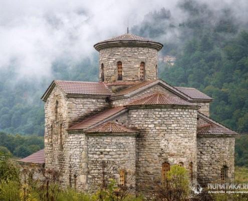 Северный храм Архызского городища