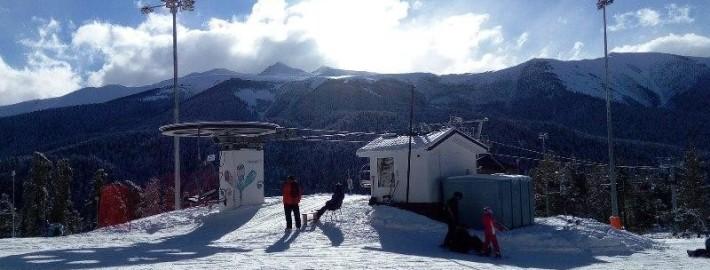 Курорт Романтик зимой