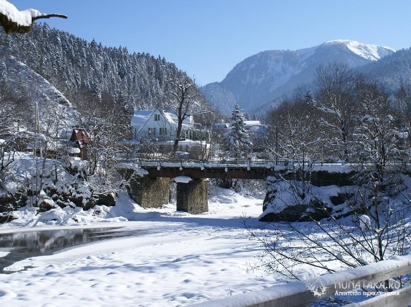 Гузерипль зимой