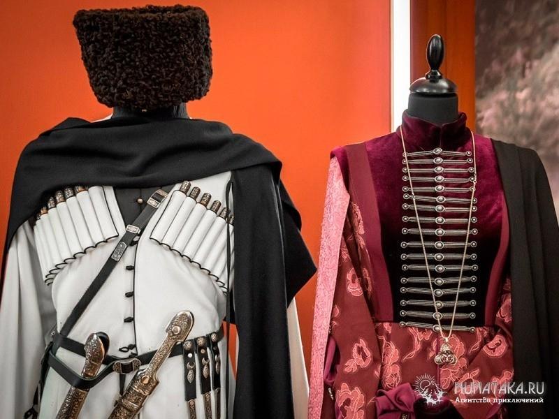Национальный костюм Кавказа