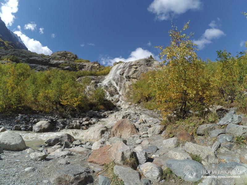 Водопад Алибек и река Алибек