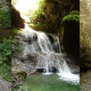 Яворов водопад. Сухая балка