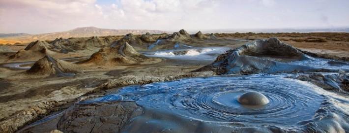 Извержение грязевого вулкана