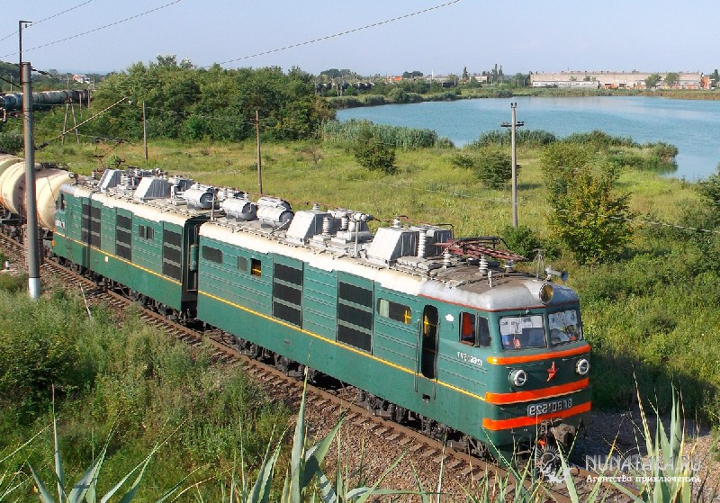 Железнодорожное полотно в районе Энема