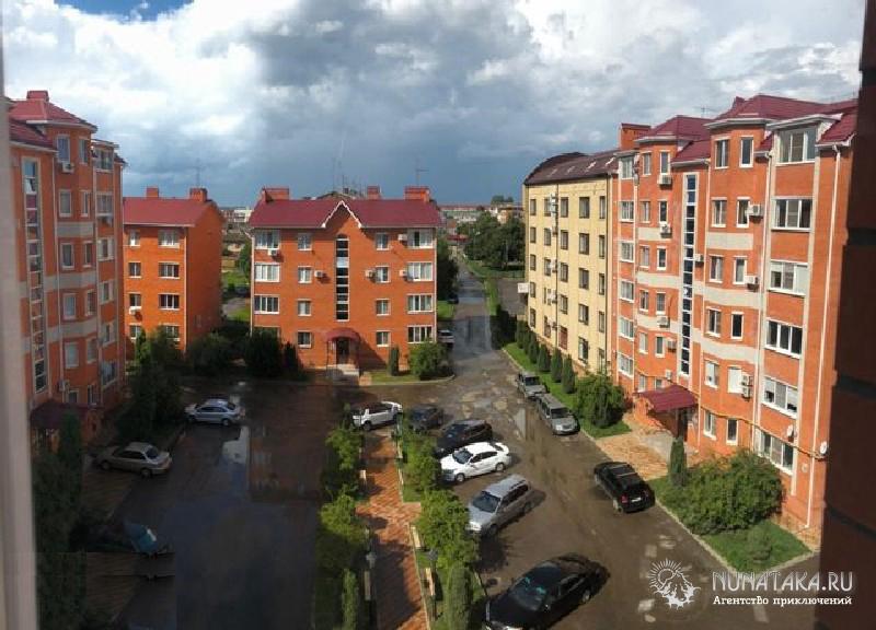 Современные жилые кварталы Энема