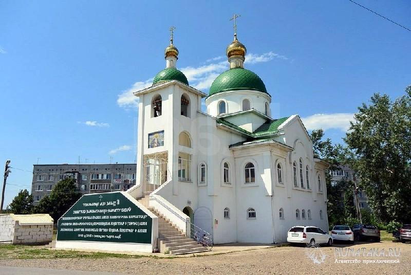 Православный храм в Энеме