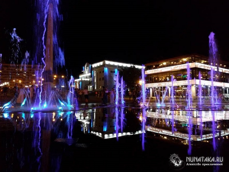 Приморский бульвар Туапсе