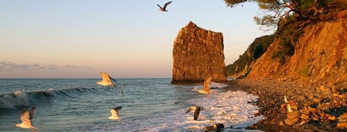 Черноморское побережье осенью