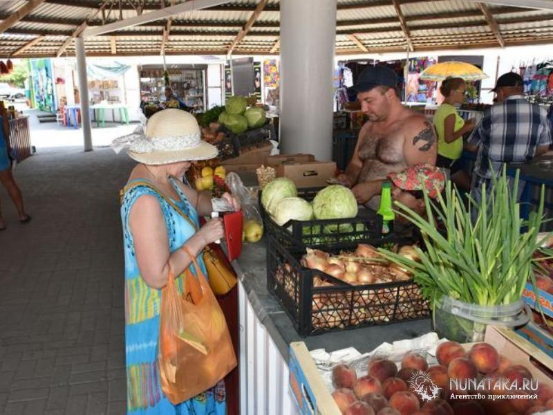 рынок в Кучугурах