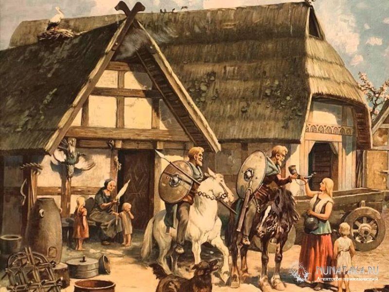Поселение германцев