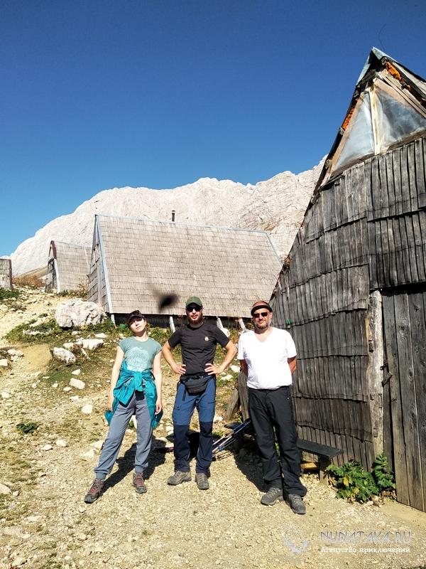Балаганы на Черкесском перевале