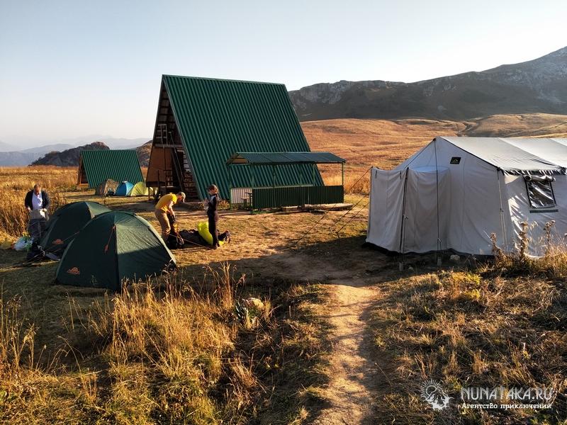 Лагерь на Инструкторской щели
