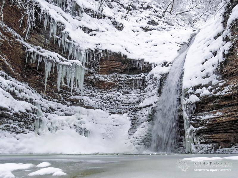 Девичья коса - четвертый водопад Руфабго